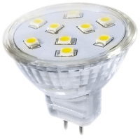 LED žárovka LED9 SMD 2835 MR11 2W-WW